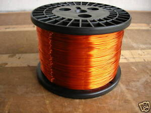 Awg 18 Copper Magnet Wire H200c High Temp 10 Lbs
