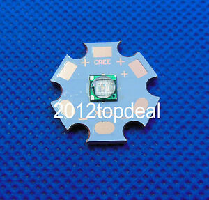 5w 5050 Ultra Violet Uv 365nm High Power Led Emitter With 20mm Copper Star
