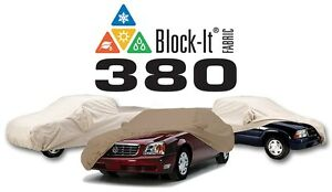 Covercraft Custom Car Covers Block it 380 Indoor outdoor Available In Tan