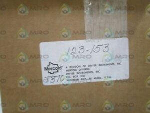 Mercoid Water Level Control Switch 123 153 new In Box