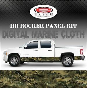 Digital Marine Cl Camo Rocker Panel Graphic Decal Wrap Truck Suv 12 X 24ft