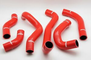 Silicone Red Intercooler Hose Kit Fit Mitsubishi Gto 3000gt Dodge Stealth Usa