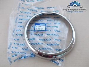 Volvo Amazon 121 122 Pv 544 Duett Headlight Rim Genuine Volvo New