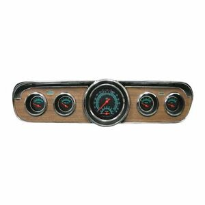 Classic Instruments 1967 1968 Ford Mustang Dash Gauge Package Black Complete