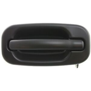 Door Handle For 1999 06 Chevrolet Silverado 1500 Smooth Black Front Right Outer