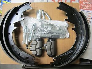 55 56 57 Chevy Rear Brake Shoes Wheel Cylinders Springs And Adjusters Push Pins