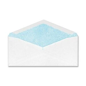 Columbian Gummed Seal Security Tint Business Envelope Executive Style 10 White