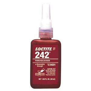 Loctite 50 Ml Tube 242 Medium Strength Threadlocker