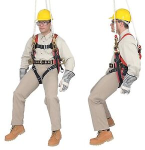 Klein Tools 87890 Fall arrest positioning suspension Harness For Tree trimming