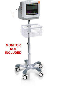 Rolling Stand For Philips Intellivue Mp5 Patient Monitor New big Wheel