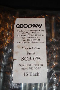 Goodway 3 4 Nylon Tube Brush Sgb 075
