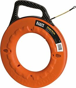 Klein Tools 56010 Navigator Fiberglass Fish Tape 100 foot Length