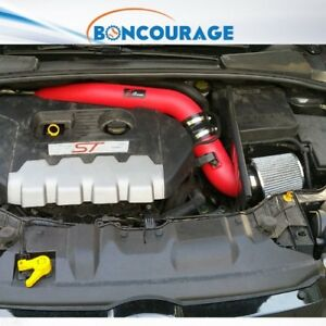 2013 2017 Ford Focus St 2 0l 2 0 Af Dynamic Cold Air Intake Kit Heatshield Red