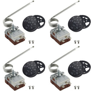 Adjustable Thermo Stat Electric Fan Switch Temp Erature Controller Kit Car Truck