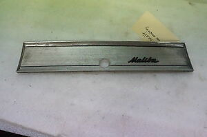 1966 1967 66 67 Chevelle Malibu Dash Glove Box Door Trim Nice Oem A2