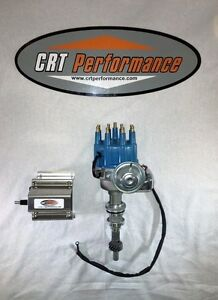 Ford 351w Small Cap Hei Distributor Blue 60 000 Volt Coil Sbf 351 Windsor