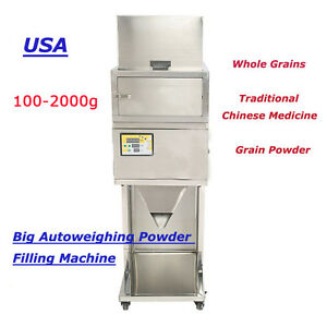 100 2000g Granular And Powder Filler Popcorn Peppermint Filling Machine Auto