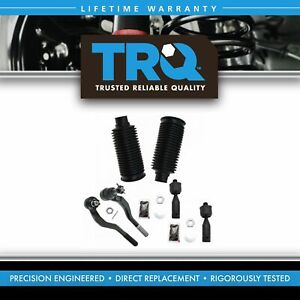 Inner Outer Tie Rod Ends W Rack Boot Bellows Lh Rh Set Of 6 For 95 04 Tacoma