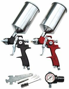 Atd 6904 6 Pc Hvlp Spray Gun Set