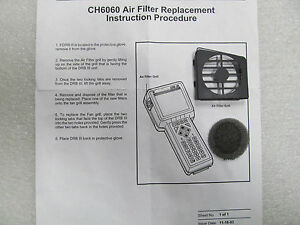 New Drb 3 Air Filter And Grille Replacement Genuine Chrysler
