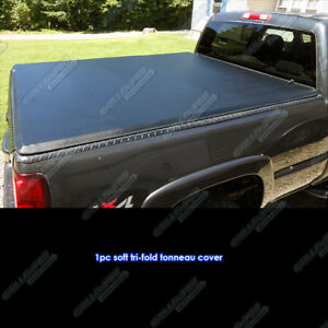 Toyota Tundra Double Cab 6 2 Short Bed 2004 2006 Soft Tri Fold Tonneau Cover