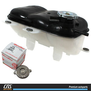 Radiator Coolant Overflow Tank W Stant Cap For 02 09 Dodge Ram 1500 5072602aa