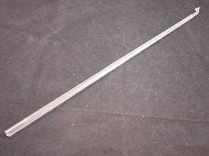 Chemglass Glass 590mm Oal 10mm Od Polished Ground Button Type Stirrer Shaft