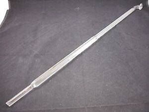 Glass 690mm Oal 19mm Od Polished Ground Button Type Stir Stirrer Stirring Shaft