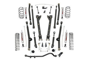 Rough Country 2 5in Jeep Long Arm Suspension Lift Kit 97 06 Tj Wrangler 4cyl