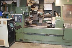 Cnc Lathe Warner Swasey Sc 25 4 axes 25 Swing Pc Control