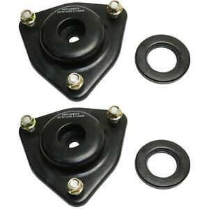 Front Upper Strut Mount Pair Lh Rh Sides For Dodge Caliber Jeep Compass New