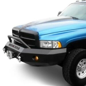 For Dodge Ram 2500 97 02 Bumper Heavy Duty Series Full Width Textured Black