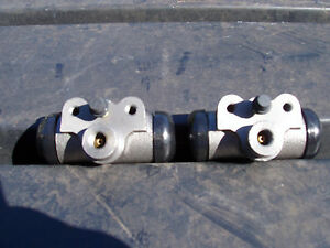 54 55 56 57 58 Studebaker Rear Wheel Cylinders Pair Left Right 8 Cyl