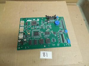 Domino Markem Imaje Videojet Ink Jet Printer Cpu Board 378890 378891 Rev Ac