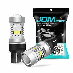 Jdm Astar 2x 4400lm 9005 Hb3 Cree Led White Fog Drl Driving Light Bright Bulbs
