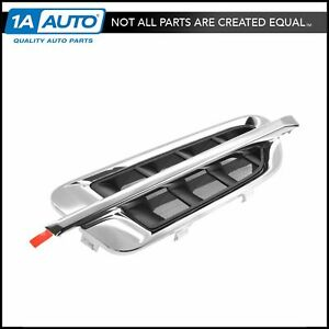 Oem Fender Mounted Chrome Vent Louver Moulding Passenger Rh For Cadillac Suv New