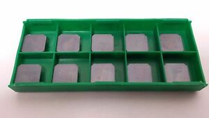 New World Products Sekn 43 Aftn Mc5k C6 Pvd Coated Carbide Inserts 10pcs Sekn43