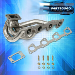Volvo 240 2 3l Sohc T3 Flange Turbo Manifold Stainless Steel W Gaskets 940 740