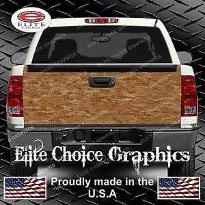 Digital Camo Truck Tailgate Wrap Vinyl Graphic Decal Sticker Wrap