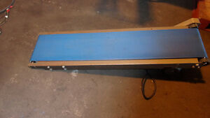 Belt Conveyor 10 3 4 Inches Wide X 54 Inches Long