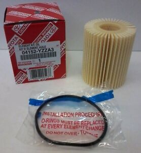 Lexus Oem Factory Oil Filter 2006 2015 Is250 Is350 2wd 04152 Yzza3