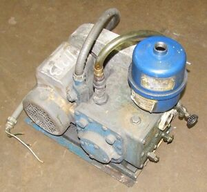 Tuthill Kinney Kc 5 Kc5 802497 Two Stage Rotary Piston Vacuum Pump