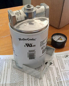 Lot Of 2 Hvac Spin on Filter Kits spin on Fuel Oil Filter 264 90gbm