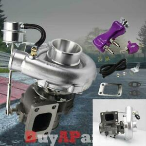 T3 T4 Upgrade Racing V Band Turbo Charger Purple Manual 30 Psi Boost Controller