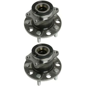 2 Rear Wheel Bearing Hub Assembly For 2007 2016 Jeep Compass Patriot Awd 4wd