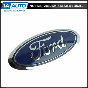 Oem Fl3z 8213 a Emblem Nameplate Grille Mounted Blue Oval For Ford F150 New