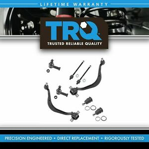 Trq Lower Control Arm Upper Ball Joint Inner Outer Tie Rod Lh Rh Kit For Dodge