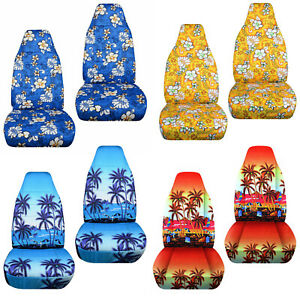 Cc 2007 2014 Fits Smart Fortwo In Fun Designs Front Set Car Seat Covers Choose