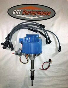 Chevy Inline 6 Straight 6 194 230 250 292 Hei Distributor Blue Plug Wires