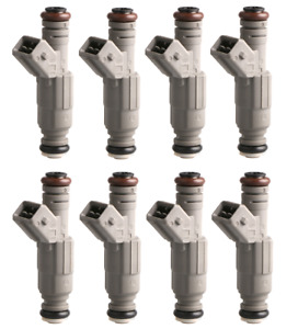 New 24lb Fuel Injectors Fit For Jeep Cherokee Dodge Dakota Ram Van 5 2 5 9